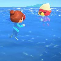 Animal Crossing: New Horizons se actualiza a la versión 1.3.0. Llega el momento de darse un baño en el océano de la isla