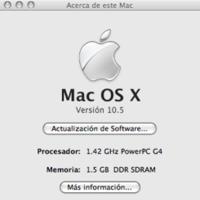 Leopard ruge en un iBook G4