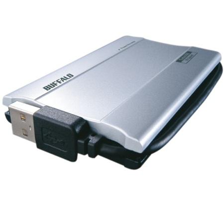 Buffalo SHD-UHRS, disco externo SSD de 100 GB