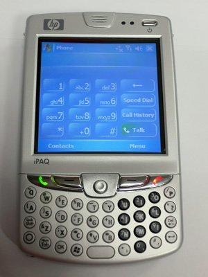 Próxima PDA de HP: iPaq hw6715