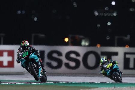 Morbidelli Rossi Doha Motogp 2021