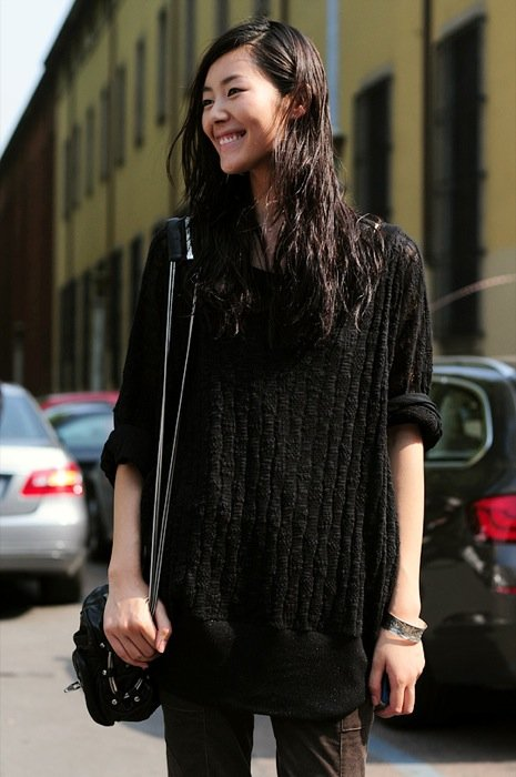 Liu Wen Is The Top International of Mercedes-Benz Fashion Week Madrid