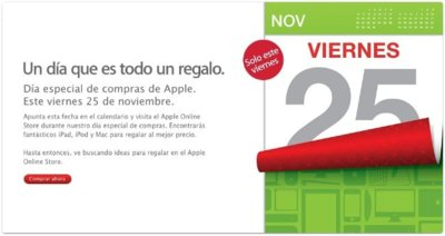 Black Friday: Apple anuncia su día de precios especiales este viernes 25 de noviembre