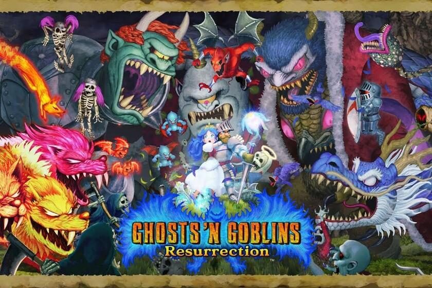 Ghosts 'n Goblins Resurrection dejará de ser exclusivo de Nintendo Switch para llegar a PS4, Xbox One y PC