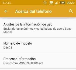 Sony Xperia Z3 ya recibe Lollipop en México
