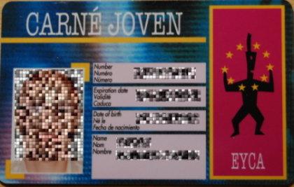 Descuentos para jóvenes con la tarjeta euro<26