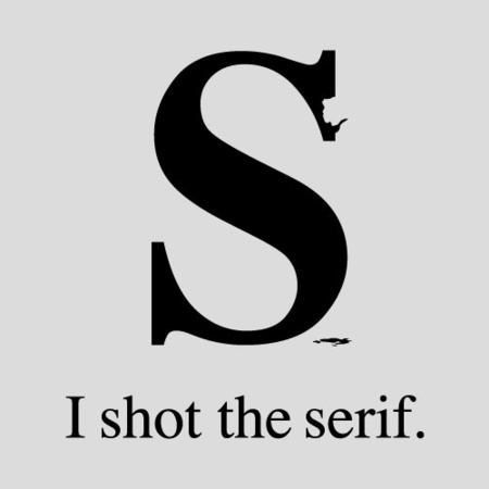 Camiseta de I shot the Serif