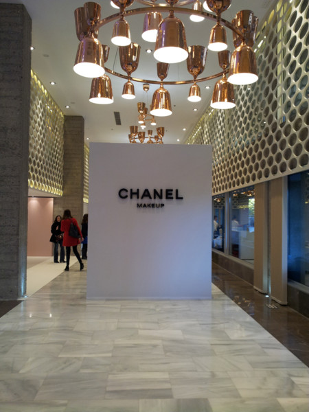 Open Day de Chanel en el Eurobuilding para presentarnos su nueva colección LA Sunrise para la primavera