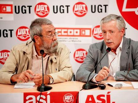 ¿De qué hablan el rey y los sindicatos?
