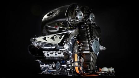 Motor PU106C del Mercedes F1 W07 Hybrid