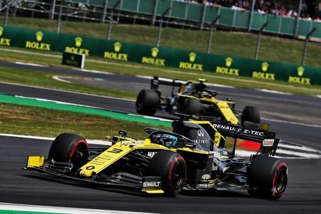 Ricciardo Silverstone F1 2019
