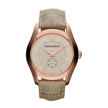 El oro rosa, indiscutible protagonista de la colección de relojes de Armani para la primavera 2013