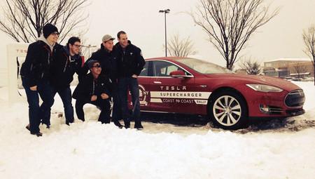 Dos Tesla Model S cruzan EEUU de costa a costa en 76,5 horas