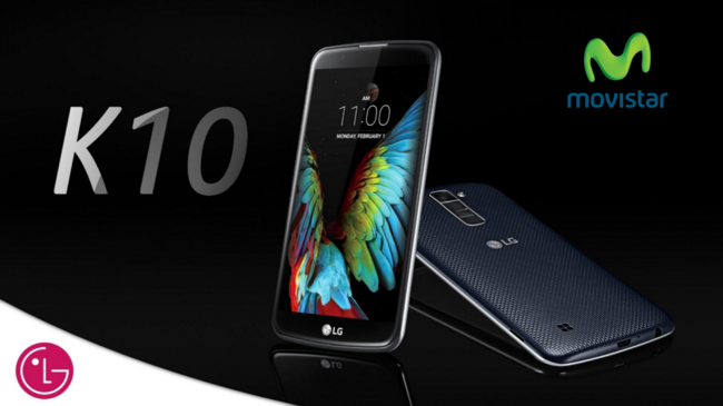 Precios LG K10 con Movistar y comparativa con Orange y Amena