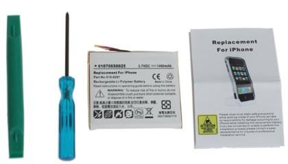Kit para sustituir la batería del iPhone, sólo 20 dólares