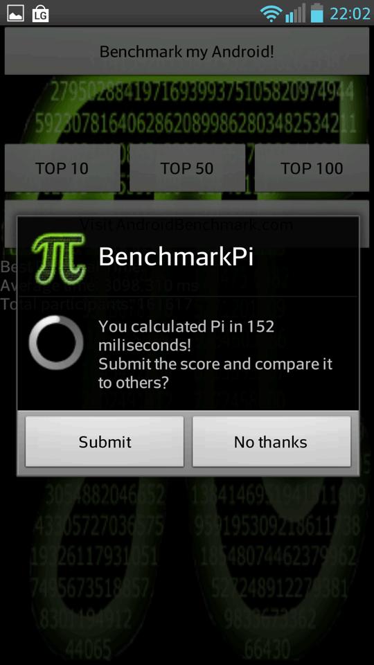Foto de LG Optimus G Pro, benchmarks (11/12)