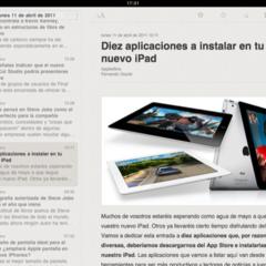 Foto 19 de 20 de la galería lectores-rss-para-el-ipad en Applesfera