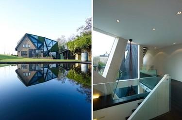 Puertas abiertas: una maravillosa villa en Rotterdam abierta al exterior