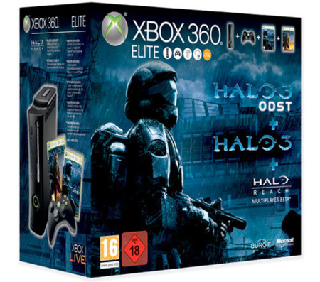 Nuevo pack Xbox 360 Halo Ultimate