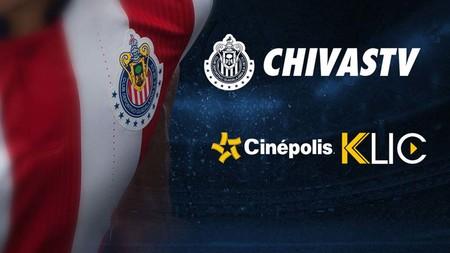 Cinépolis Klic será la plataforma que rescate a un accidentado Chivas TV