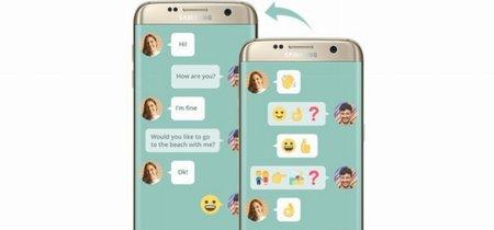 Wemogee: la app de Samsung que usa emojis para facilitar la comunicación a personas con afasia