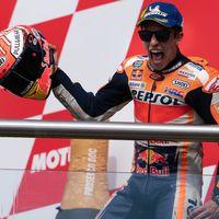 Con más de 13 millones de euros al año Marc Márquez ya cobra más que Valentino Rossi en MotoGP