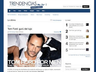 Trendencias Hombre México: los hombres mexicanos ya saben cómo cuidarse