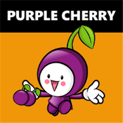 Purple Cherry icono