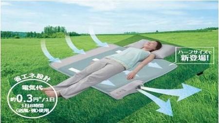 Aire acondicionado para camas, nunca más pasaremos calor por las noches