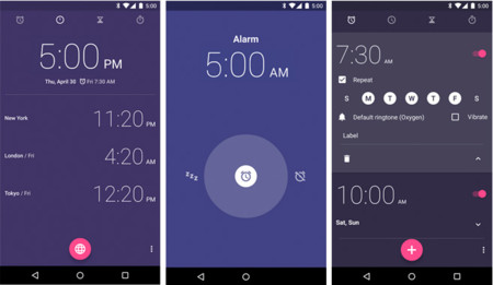 Google Reloj app para Android, ahora disponible en Google Play