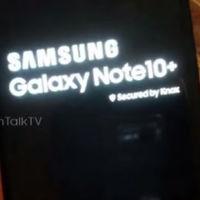 Una filtración muestra las primeras imágenes del Samsung Galaxy Note 10 Pro rebautizado como Galaxy Note 10+