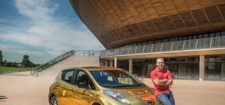 Británicos, la mejor excusa para ganar un oro en Río 2016 es este Nissan LEAF dorado
