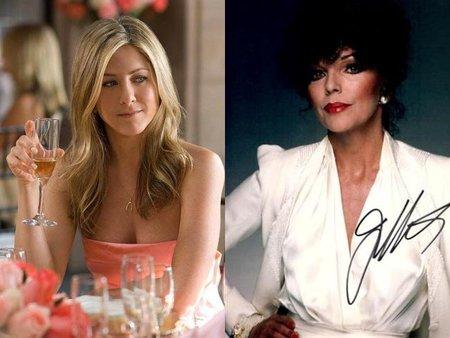 Si hay que elegir entre Angelina Jolie y Jennifer Aniston, Joan Collins lo tiene claro