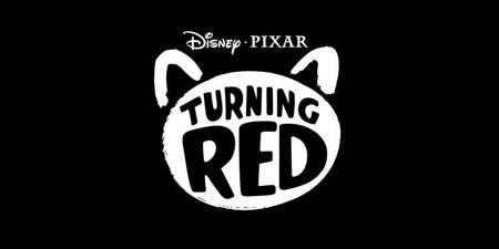 Pixar Turning Red Logo Social