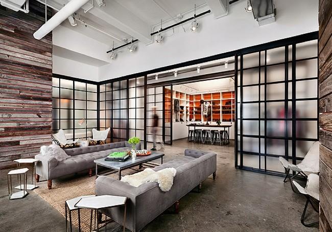 Espacios para trabajar las oficinas de shopbop for Diseno oficinas industriales
