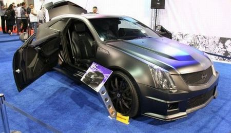 Cadillac CTS-V Coupe de Justin Bieber