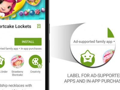Cualquier app que incluya anuncios llevará etiqueta en Google Play a partir de 2016