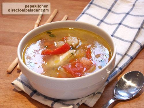 Pescado en blanco receta de dieta ligera - Sopa de alcachofas para adelgazar ...