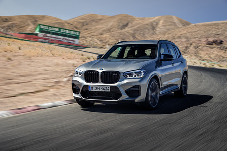 BMW X3 M 2020 frontal lateral