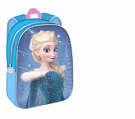 En Amazon tienes esta mochila reversible de Frozen por solo 19,95 euros y envío gratis