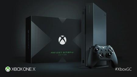 Microsoft anuncia la Xbox One X Project Scorpio Edition y aquí tienes su unboxing oficial [GC 2017]