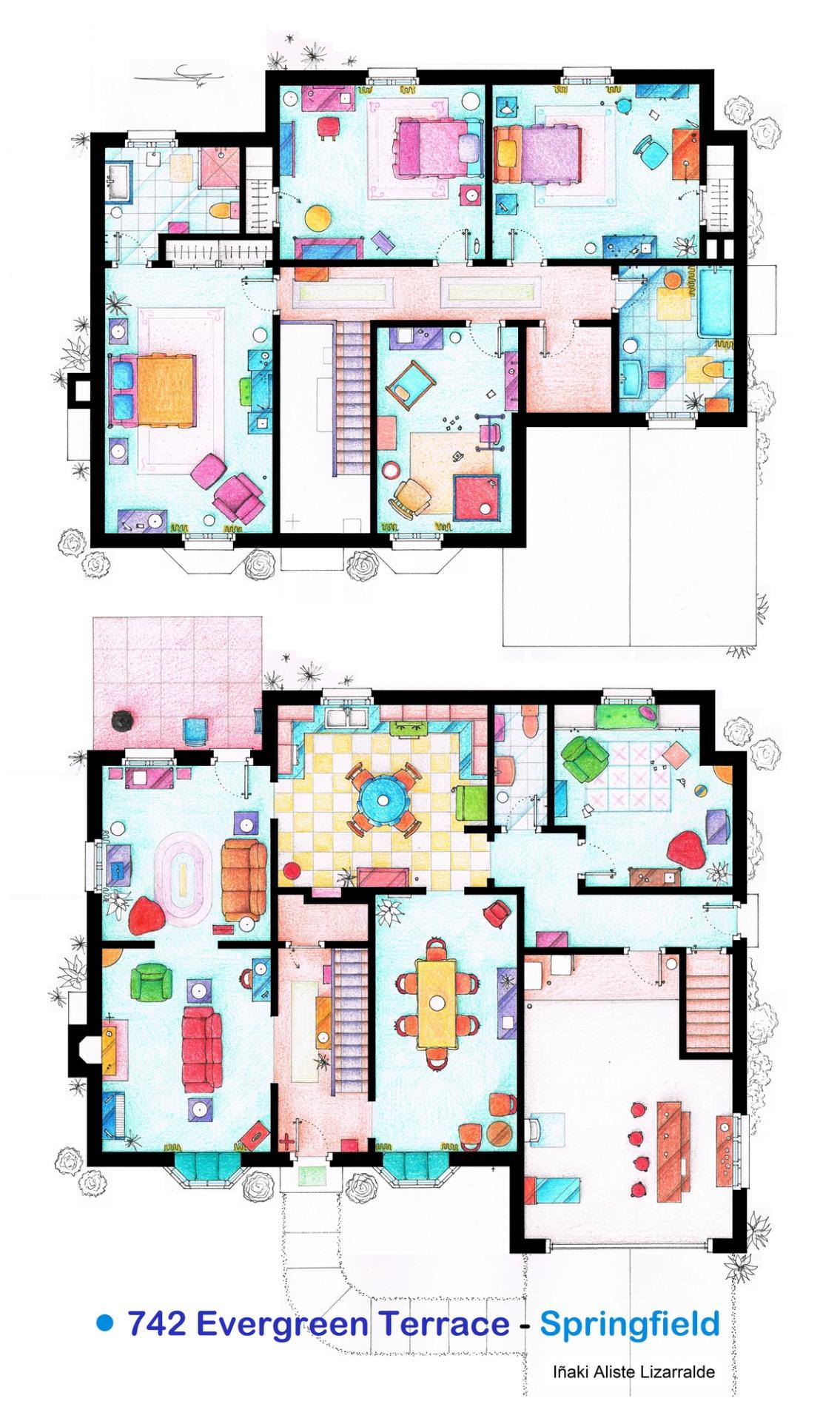 Foto de Planos de apartamentos de series de TV (13/17)