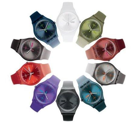 Swatch aporta más colores a su colección de relojes 'Gent'