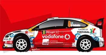 Marcus Gronholm hará de coche 0 en Portugal