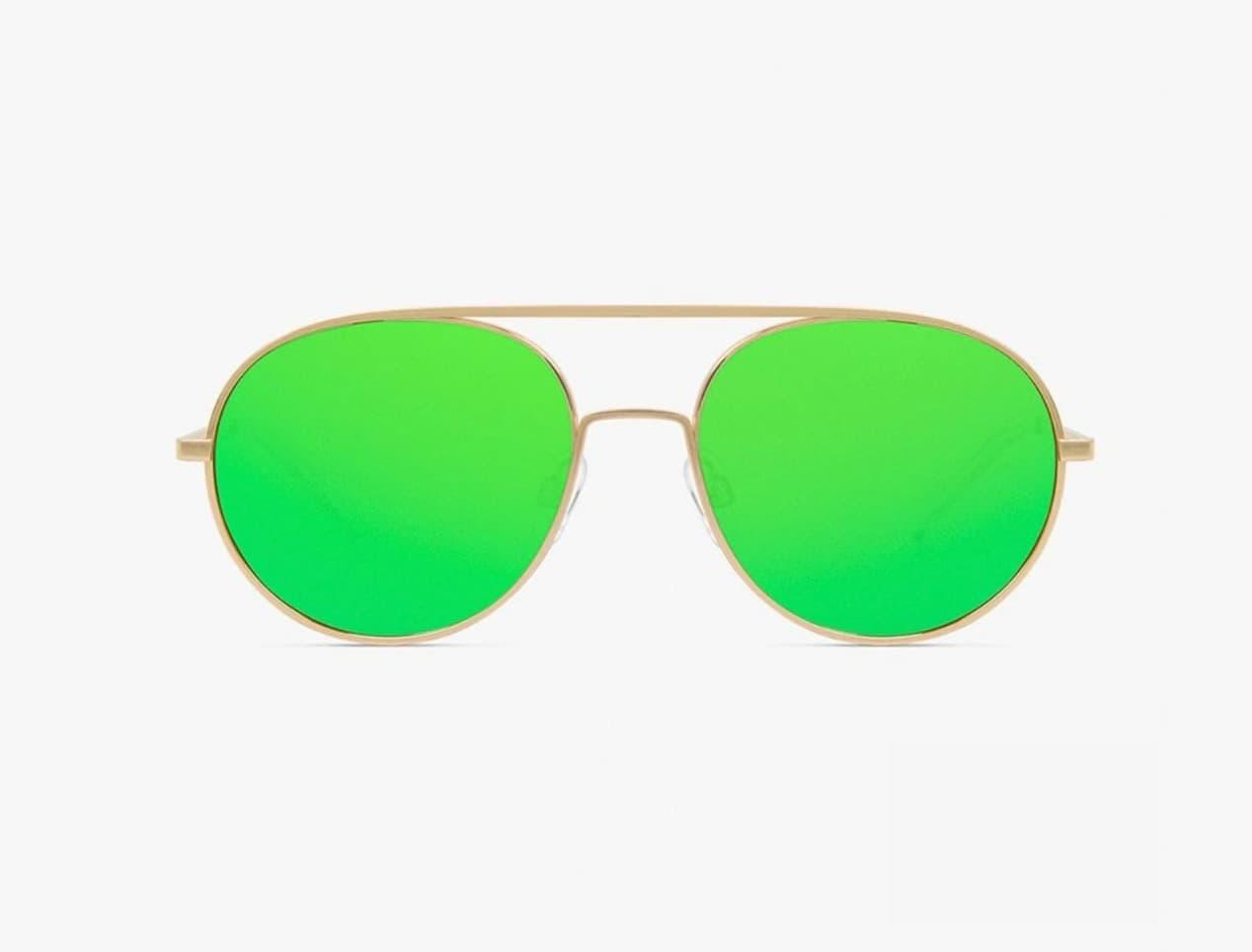 Gafas de sol unisex D.Franklin en color oro con lentes polarizadas