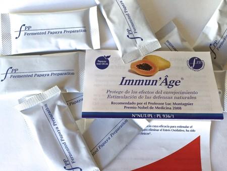 Conozco los beneficios de la papaya fermentada, y me apunto a Immun'Âge. Si te gusta protegerte de los efectos del envejecimiento, te va a gustar