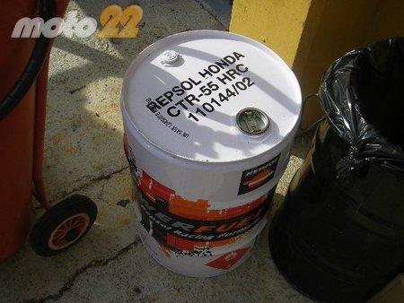 LLeno por favor: la gasolina que se usa en competición