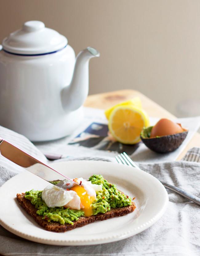 Cinco Saludables Desayunos