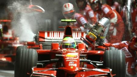 Massa F1 Manguera Singapur 2008