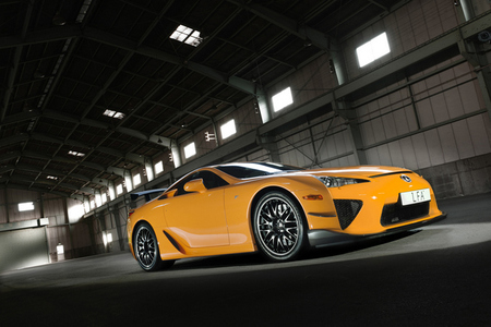 El nuevo Lexus LFA será el doble de potente y de caro